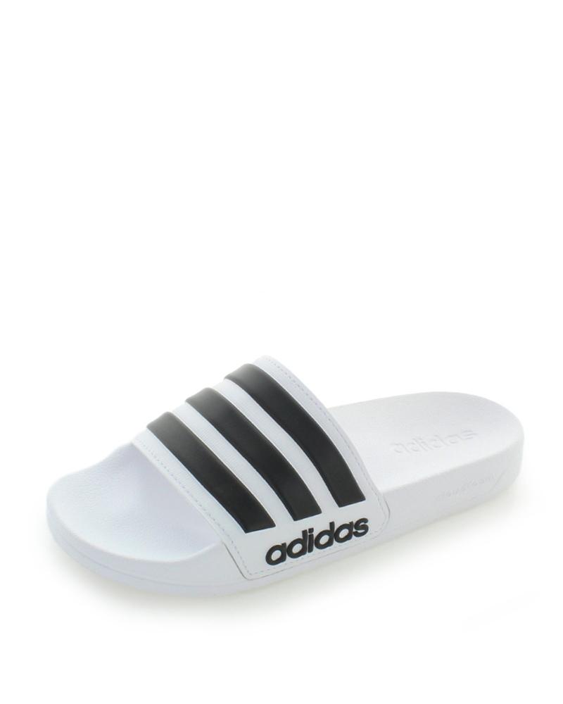 351cc27f56ead adidas CORE Pánske biele šľapky Adilette Shower - Glami.sk