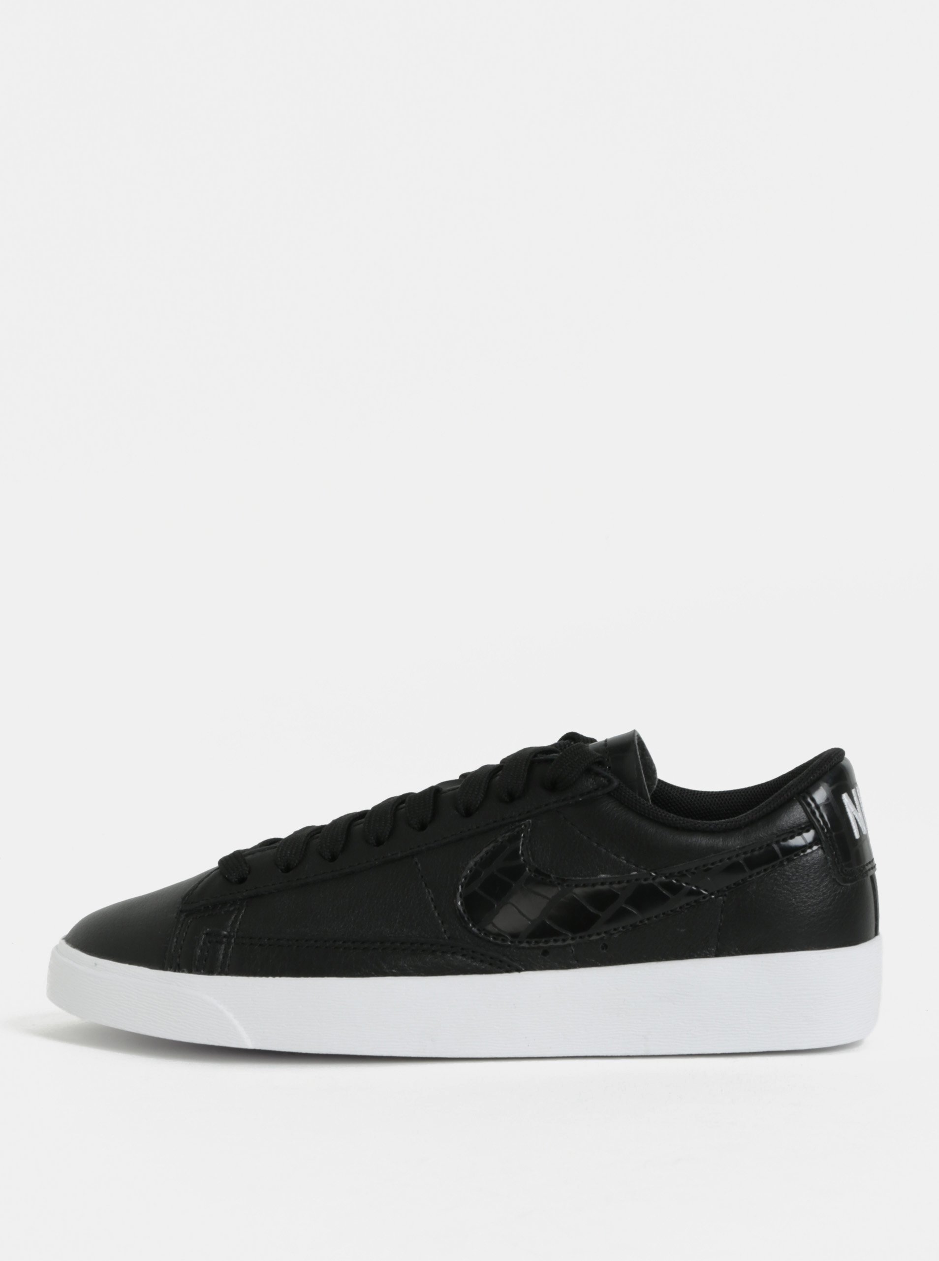 8ca815a34897c Čierne dámske kožené tenisky Nike Blazer Low Leather - Glami.sk