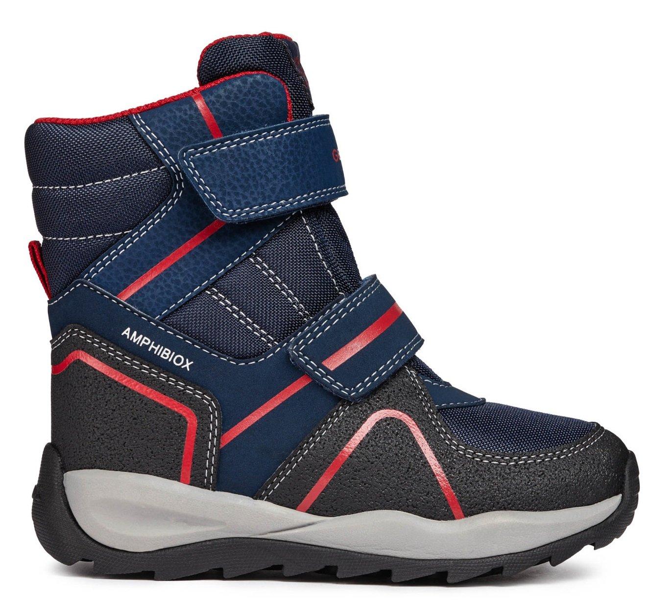 1160390df Geox Chlapčenské zimné topánky Orizont - modré - Glami.sk