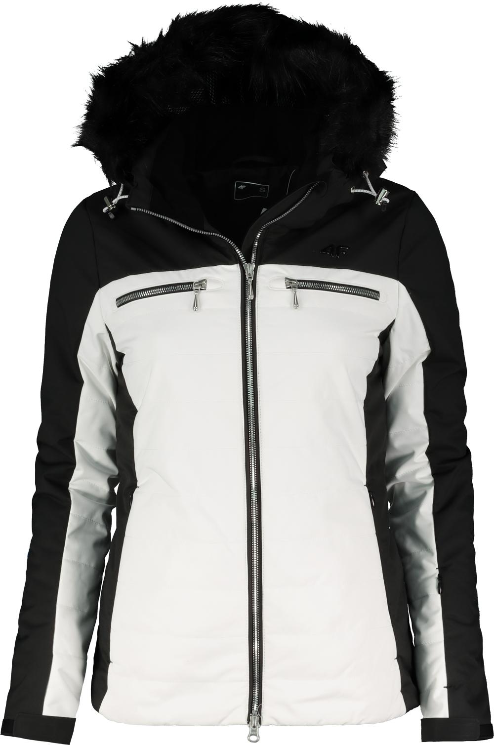 663186ede Bunda lyžiarska dámska 4F KUDN151 WHITE - Glami.sk