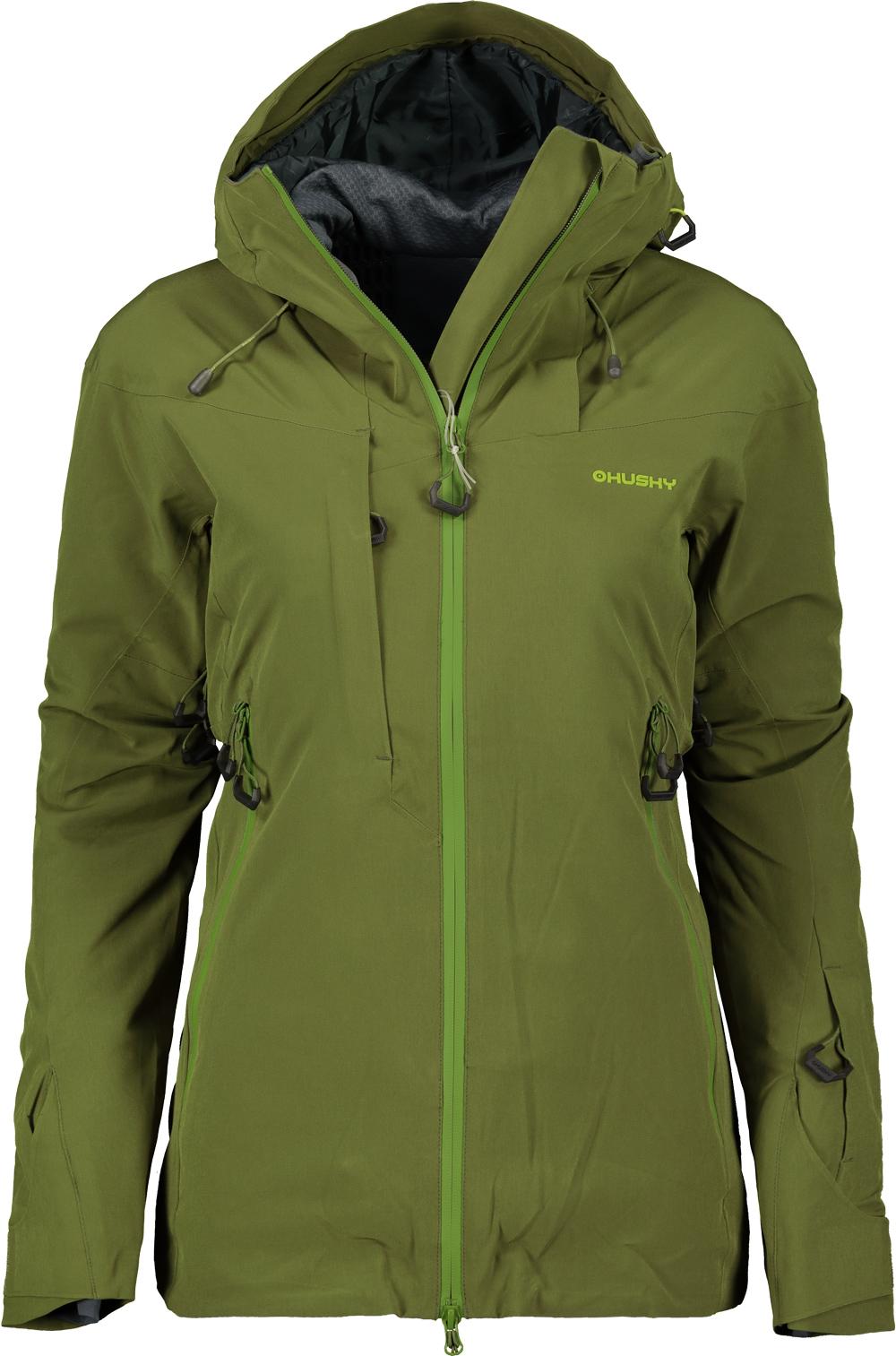 702eda29d Bunda hardshellová dámska HUSKY ski GOMBI L dark olive - Glami.sk
