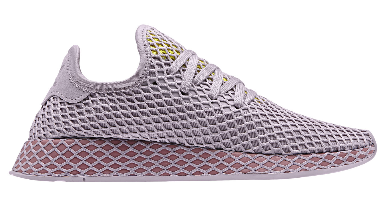 2321ac7a99561 adidas Originals adidas Deerupt Runner W Soft Vision fialové CG6084 ...