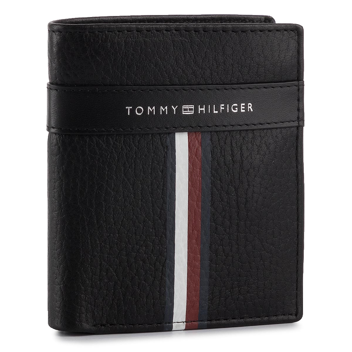 39cf55d2d Malá Pánska Peňaženka TOMMY HILFIGER - Corporate Leather Ns Trifold  AM0AM04812 002