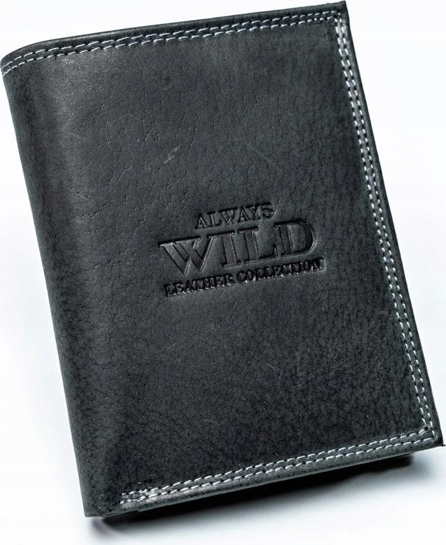 8a2a9acc0 ALWAYS WILD pánska peňaženka 002-MH BLACK - Glami.sk