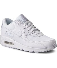 41fc2a7d633ef Topánky NIKE - Air Max 90 Essential 537384 111 White/White/White/White