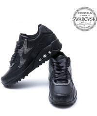 144eee3cc93f9 Nike   Swarovski Nike Air Max 90 Swarovski Black II