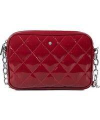 3b63da258 Kožená kabelka na rameno online lakovaná červená Wojewodzic 31304
