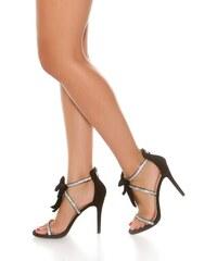 9b7a21df6a08a In-Style Dámske kamienkové topánky s mašľou