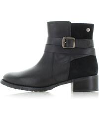 d580e13074e6b Vínové dámske členkové kožené vodovzdorné zimné topánky SOREL - Glami.sk
