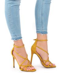 0f5b279c3 Ideal Žlté sandále Eden - Glami.sk