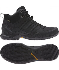 1a6b49479ce0d Pánske členkové topánky adidas Performance TERREX SWIFT R2 MID GTX (Čierna)