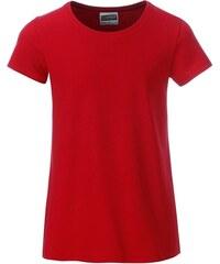 65c94c05e James & Nicholson Klasické dievčenské tričko z biobavlny 8007G