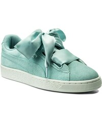 aed4104f6784e Sneakersy PUMA - Suede Heart Pebble Wn's 365210 03 Aquifer/Blue Flower