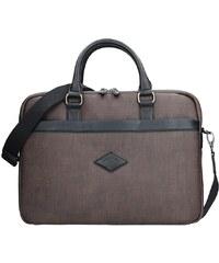 dc5b0e989eeb2 Tmavohnedá moderná pánska taška cez rameno - Lee Cooper Adrastos ...