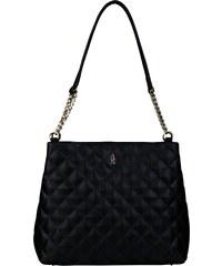 ee0f6fe7edb1c Wojewodzic čierna elegantná kožená kabelka cez rameno 31760/P/LY01/Z