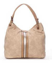 6525c1b1f Moderná dámska kabelka pre každý deň marhuľová - MARIA C Aileen Camel
