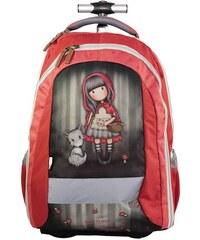 262de3aae76f1 Santoro London - Batoh školský na kolieskách 31l - Gorjuss - Little Red  Riding Hood