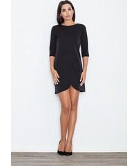 caf16651f FIGL Dámske púzdrové šaty čierna M202 - Glami.sk