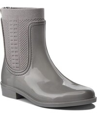 c4d136912371e Gumáky TOMMY HILFIGER - Shiny Rain Boot FW0FW03403 Silver 000