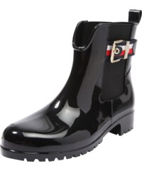 fc30d8cf719b3 Gumáky TOMMY HILFIGER - Corporate Faux Fur Rain Boot FW0FW03616 ...