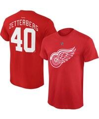 53823eb6c7016 Reebok Detroit Red Wings detské tričko red Henrik Zetterberg NHL Name &  Number