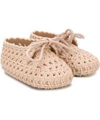 2ce63502bff69 Mini Melissa woven crib shoes - Neutrals