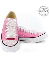 49d443a6b30c9 Converse | Swarovski Converse pink low Pearls Swarovski Edition