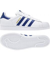 9f8bb20f0f538 Pánske tenisky adidas Originals SUPERSTAR (Biela / Tmavo modrá / Zlatá)