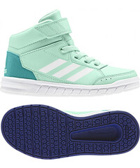 0dd45c6ed2b75 Detské členkové topánky adidas Performance AltaSport Mid EL K (Svetlo  zelená / Biela / Pastelová