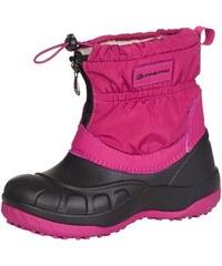 9565f83f4088a ALPINE PRO SAVIO Ružová/Fialová Detská zimná obuv