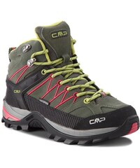 c22908e5ab208 Trekingová obuv CMP - Rigel Mid Wmn Trekking Shoes Wp 3Q12946 Kaki/Corallo  65BN