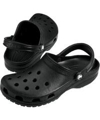 d9fac9abfded8 Crocs Crocs čierne pánske šľapky so zimným motívom Crocsband Holiday ...