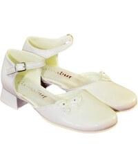 3f85a9793c2f2 REMARK Detské biele spoločenské topánky NAVIA 31