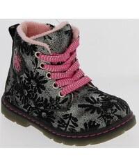 5f7846bbd70d2 D.D.step Chlapčenské zateplené topánky s ufonama - čierne - Glami.sk
