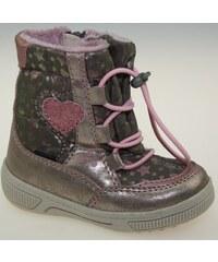 f8e31b3762d4d D.D.step Dievčenské zimné topánky s mačičkou - ružovo-modré - Glami.sk