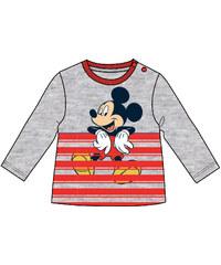 977f3c25880ab Disney by Arnetta Chlapčenské tričko Mickey Mouse - šedo-červené