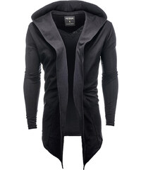 aa90eacf70277 Ombre Clothing Pánska mikina s veľkou kapucňou Corbin čierny