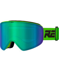 0605fe4a7 Meatfly Lyžiarske okuliare Scout 3 Goggles C - Lime / Yellow chrome ...