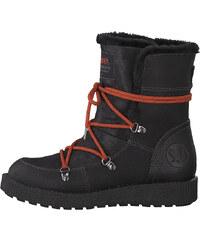 4029d59a25a87 s.Oliver Dámske členkové topánky Black 5-5-26459-31-001