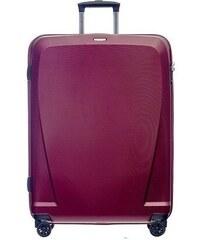 4f40ff2272728 Puccini Cestovný kufor veľký 116 litrov na 4 kolieskach červený PC019A-3