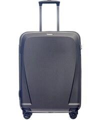 237b87676dcd1 Cestovný kufor stredný 78 litrov na 4 kolieskach sivý Puccini PC019B-4