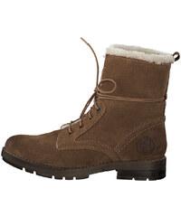 60e4f842e60da s.Oliver Dámske členkové topánky Cognac 5-5-26106-21-305