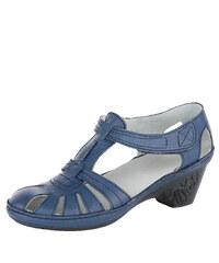 b7e0783478a94 Di Janno 9830-5016 modré dámske nadmerné lodičky - Glami.sk