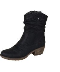 2392797349205 Rieker Dámska obuv členková (kotníková) zateplená na nízkom podpätku