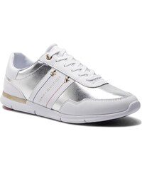 0b6c64e38 Sneakersy TOMMY HILFIGER - Tommy Essential Leather Sneaker FW0FW03688 White  100