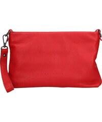c25020251111a Dámska kožená listová kabelka Facebag Haidl - červená