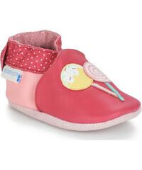 b5b5dc033298f Textilné dievčenské papuče RENBUT 414 modrá kotva - Glami.sk