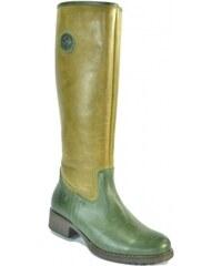 8cf05f7c6 Zelené, Kožené Dámske čižmy a členkové topánky | 10 kúskov na jednom ...