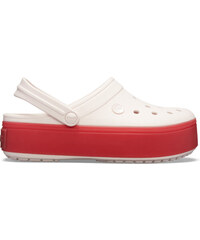 580d94ce6 dámske papuče Crocs Crocband Platform Clog červená, ružová - 39,40
