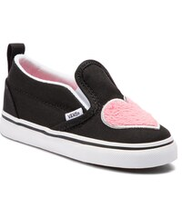 15abe204fa3cd Tenisky VANS - Slip-On V VN0A3488VJC1 (Fur Heart) Strawberry Pi